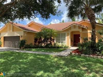 Coconut Creek Single Family Home For Sale: 6333 NW 42nd Ter