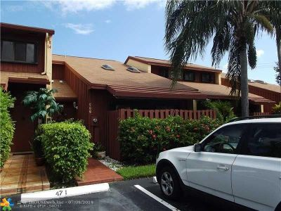 Dania Beach Condo/Townhouse For Sale: 473 SE 14th St #473
