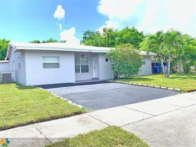 Pompano Beach Single Family Home For Sale: 2010 NE 2nd Av