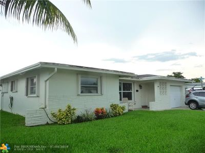 Margate Single Family Home For Sale: 6820 NW 15th St