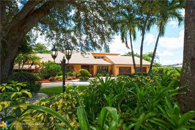 Tamarac Single Family Home For Sale: 7620 Banyan Ter