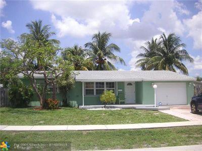 Deerfield Beach Single Family Home Backup Contract-Call LA: 1183 SE 1st Ter