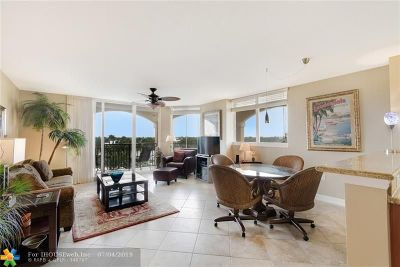 Broward County Condo/Townhouse For Sale: 2011 N Ocean Blvd #N504