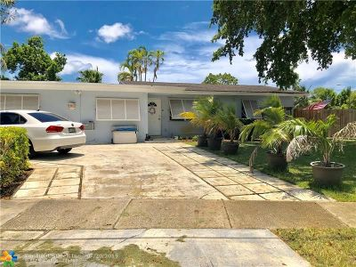 Margate Single Family Home For Sale: 6119 NW 20th Ct