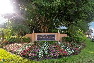 Boca Raton Single Family Home For Sale: 8200 Nadmar Ave