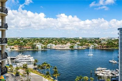 Fort Lauderdale Condo/Townhouse For Sale: 100 S Birch #1402C