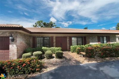Coral Springs Single Family Home For Sale: 1381 NW 83rd Ave