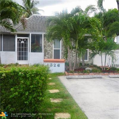 North Lauderdale Condo/Townhouse Backup Contract-Call LA: 1326 Silverado Dr
