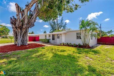 Pompano Beach Single Family Home For Sale: 5316 NE 14th Ave