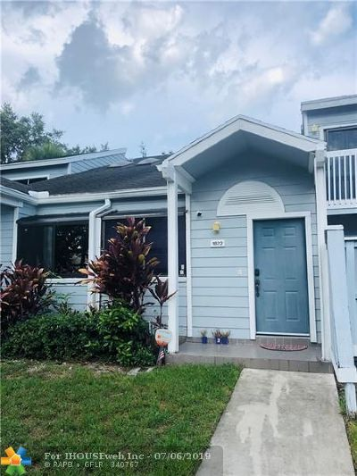 North Lauderdale Single Family Home For Sale: 1822 Racquet Ct