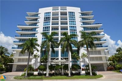 Fort Lauderdale Condo/Townhouse For Sale: 715 Bayshore Dr #704