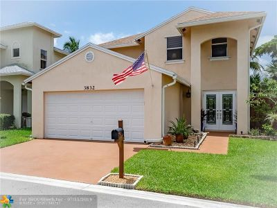 Coconut Creek Single Family Home For Sale: 3832 NW 23rd Mnr