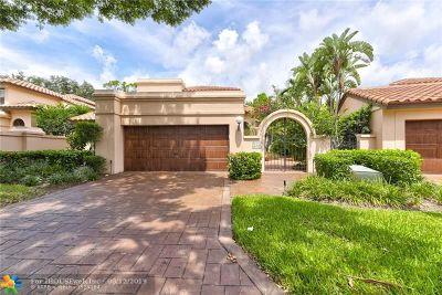 Deerfield Beach Single Family Home For Sale: 3146 Via Napoli
