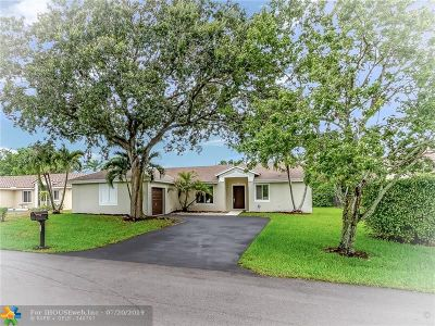 Coconut Creek Single Family Home For Sale: 5551 NW 40th Ter