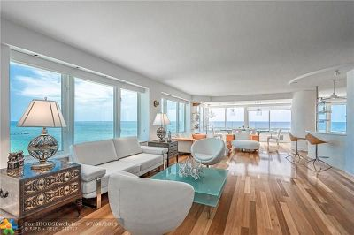 Lauderdale By The Sea Condo/Townhouse For Sale: 3900 N Ocean Dr #17 D