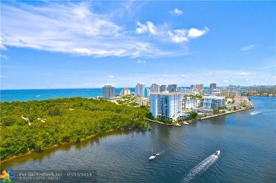 Fort Lauderdale Condo/Townhouse For Sale: 777 Bayshore Dr #1405