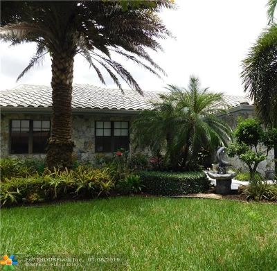 Coral Springs Single Family Home For Sale: 6553 NW 54th Dr
