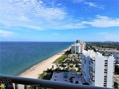 Pompano Beach Condo/Townhouse For Sale: 1370 S Ocean Blvd #2603