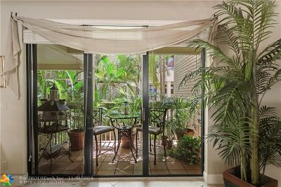 Fort Lauderdale Condo/Townhouse For Sale: 1401 NE 9th #65