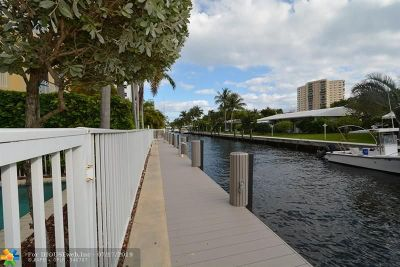 Pompano Beach Condo/Townhouse For Sale: 1047 S Riverside Dr