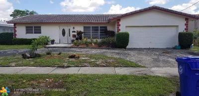 Fort Lauderdale Single Family Home For Sale: 1469 NE 53rd St