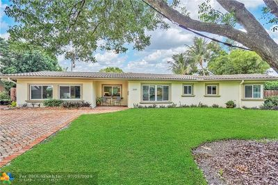 Fort Lauderdale Single Family Home For Sale: 2509 NE 29th St