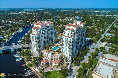 Fort Lauderdale Condo/Townhouse For Sale: 600 W Las Olas Blvd #501S
