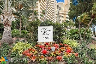 Fort Lauderdale Condo/Townhouse For Sale: 4300 N Ocean Blvd #4 C