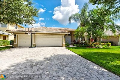 Coral Springs Single Family Home For Sale: 12357 NW 52nd Ct