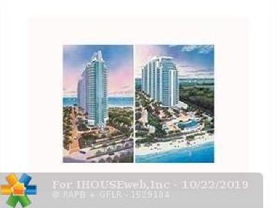 Broward County Condo/Townhouse For Sale: 3535 S Ocean Dr #1505
