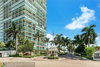 Fort Lauderdale Condo/Townhouse For Sale: 2100 S Ocean Ln #410