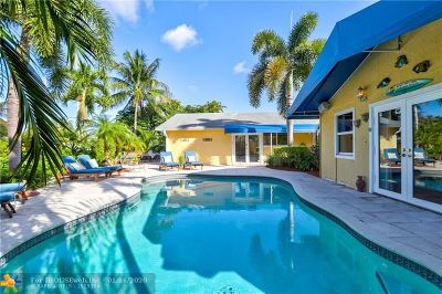 Fort Lauderdale Single Family Home For Sale: 1601 SW 5th Pl