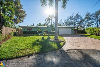 Fort Lauderdale Single Family Home For Sale: 5811 NE 14th Ln