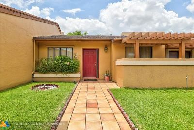 Plantation Condo/Townhouse Backup Contract-Call LA: 861 NW 79th Ter #861