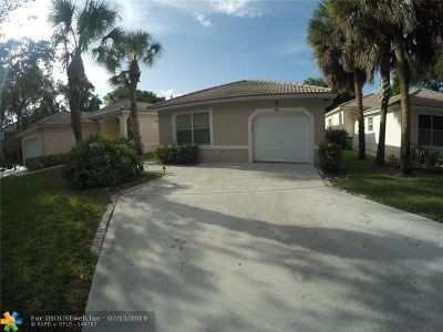 Coral Springs Single Family Home For Sale: 3976 NW 89th Ave