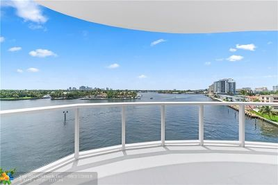 Broward County Condo/Townhouse For Sale: 321 N Birch Rd. #601