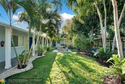 Fort Lauderdale Multi Family Home For Sale: 1352 Holly Heights Dr