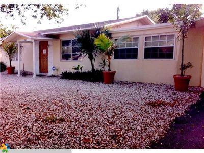 Fort Lauderdale Single Family Home For Sale: 2601 SW 13th Ave