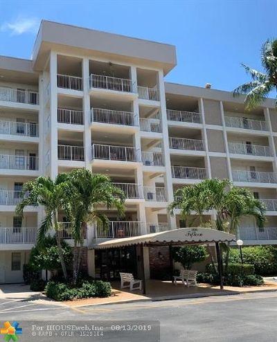 Pompano Beach Condo/Townhouse For Sale: 2600 S Course Dr #610