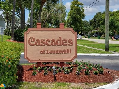 Lauderhill Condo/Townhouse For Sale: 7980 NW 50th St #410