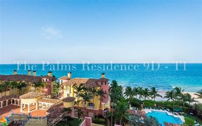 Fort Lauderdale Condo/Townhouse For Sale: 2100 N Ocean Blvd #9D