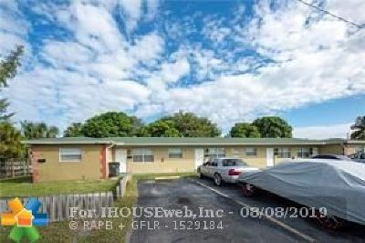 Oakland Park Multi Family Home For Sale: 4008 NW 5th Ave
