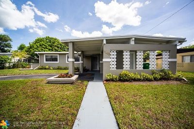Lauderhill Single Family Home For Sale: 4710 NW 11th Pl