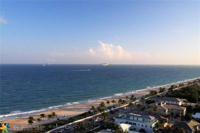 Fort Lauderdale Condo/Townhouse For Sale: 1901 N Ocean Blvd #PH-D
