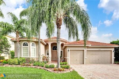 Coral Springs Single Family Home For Sale: 12055 NW 50th Dr