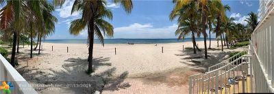 Pompano Beach Condo/Townhouse For Sale: 1000 S Ocean Blvd #16I