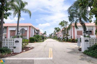 Pompano Beach Condo/Townhouse For Sale: 3550 NW 8th Ave #805