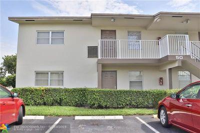 Margate Condo/Townhouse For Sale: 7805 W Atlantic Blvd #101