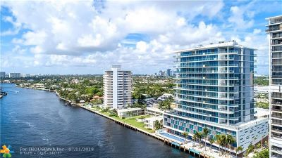 Fort Lauderdale Condo/Townhouse For Sale: 920 Intracoastal Drive #PH1