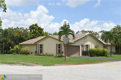 Coral Springs Single Family Home For Sale: 8519 Ramblewood Dr